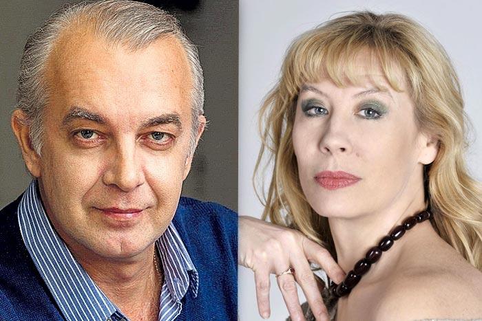 Петр Журавлёв и Дарья Юргенс