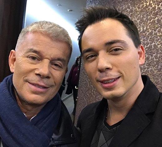 Родион Газманов и Олег Газманов