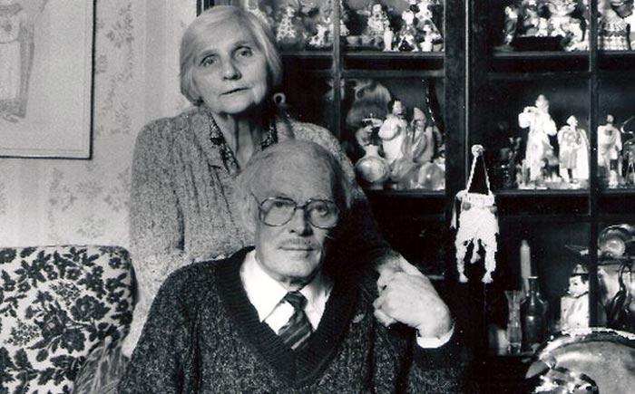 Розалия Котович и муж Павел Кадочников