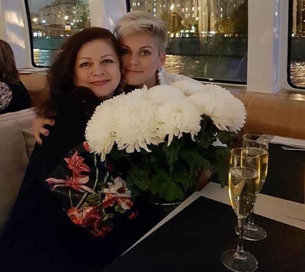 Сабина Пантус с мамой