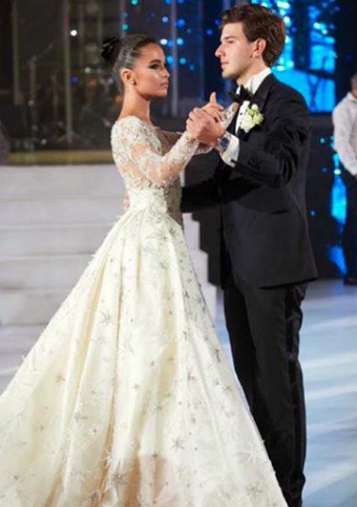свадьба Сарина Турецкая и Торнике Церцвадзе