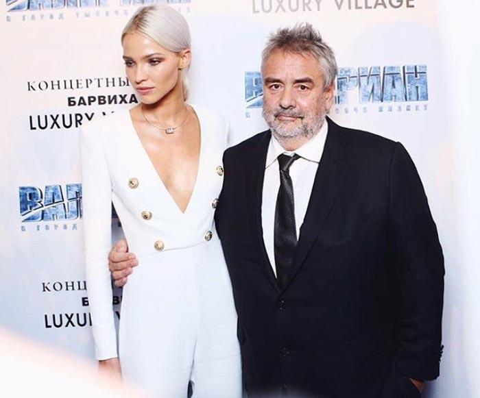 Саша Лусс и Люк Бессон
