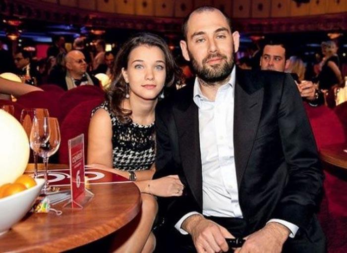 Семён Слепаков и жена Карина