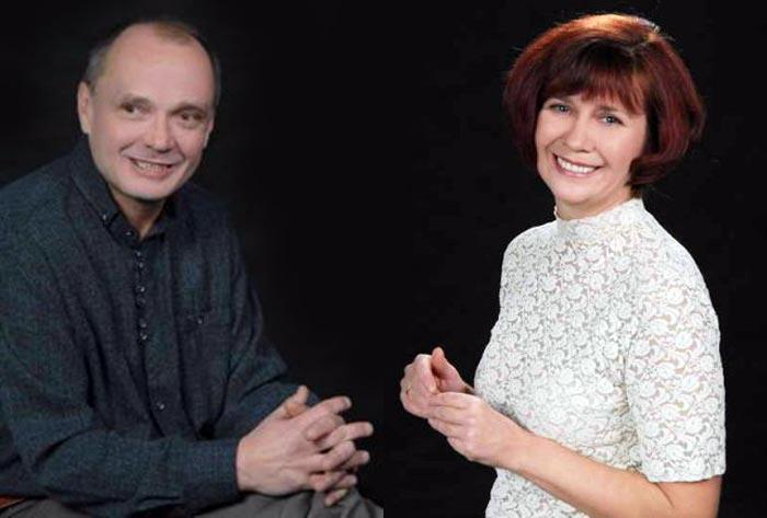 Сергей Черноглазов и Галина Лишица