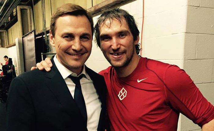 Сергей Федоров и Александр Овечкин
