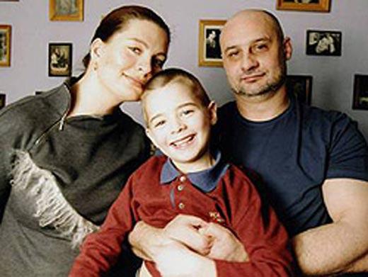 Сергей Говорухин с женой Верой и сыном Василием
