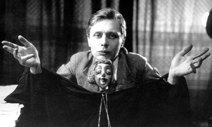 Сергей Образцов с куклой