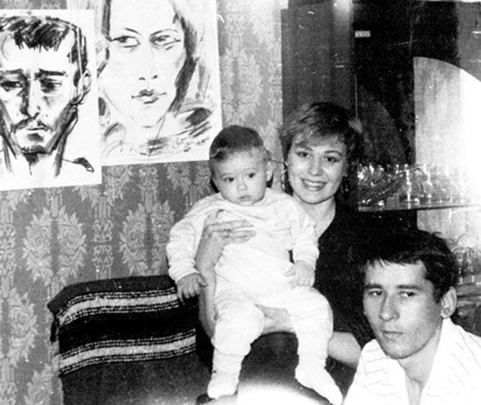 Сергей Шкаликов и Галина Чурилова с сыном