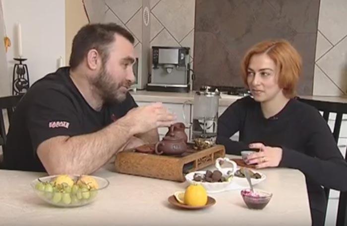 Сергей Векслер и жена Юлия 2