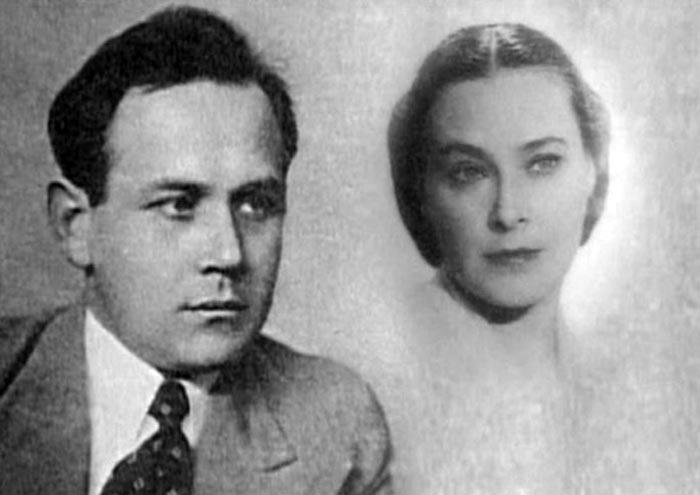 Софья Пилявская и Николай Дорохин