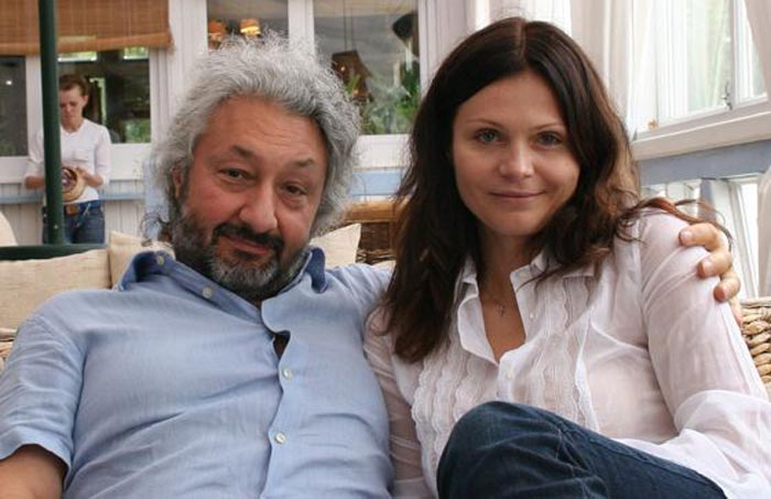 Стас Намин и жена Галина