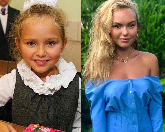 Стефания Маликова в детстве и юности