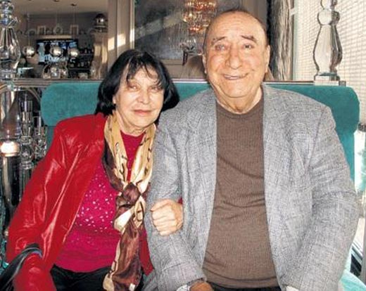Степан Пучинян с женой