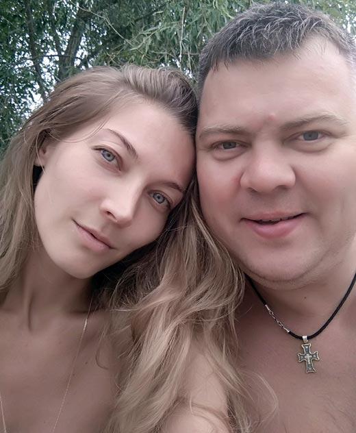 Светлана Бакулина и муж Егор Бакулин