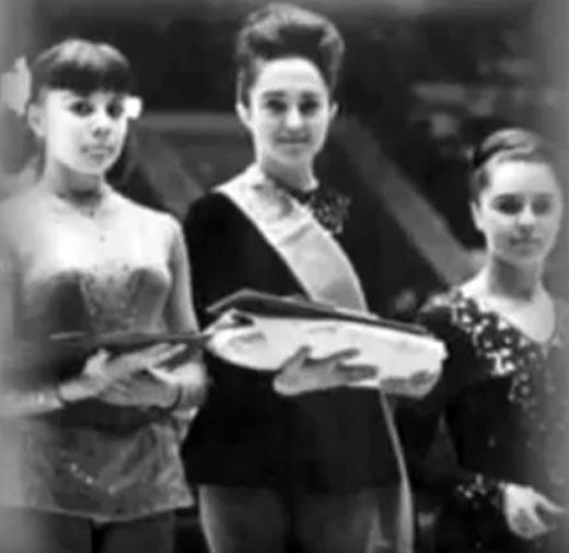 Тамара Москвина чемпионка СССР