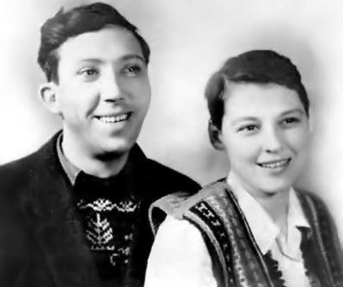 Татьяна Никулина и Юрий Никулин