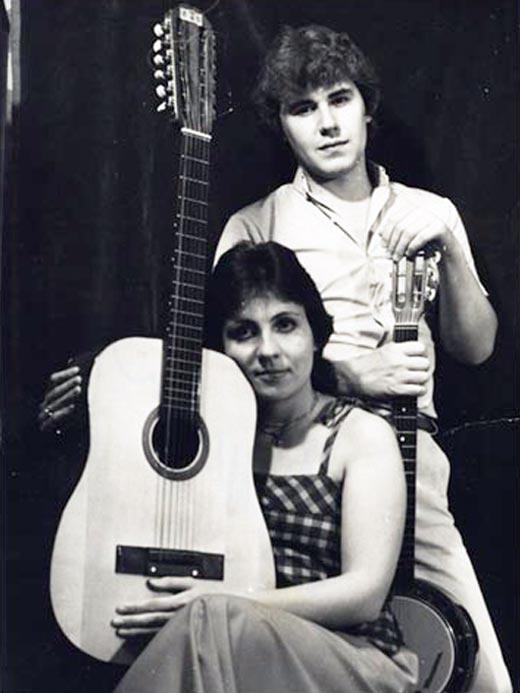 Татьяна Рузавина и муж Сергей Таюшев