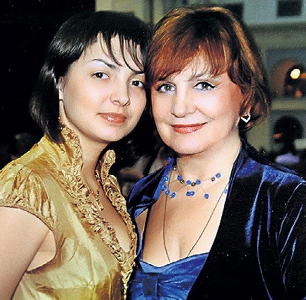 Татьяна Судец и дочь Дарья