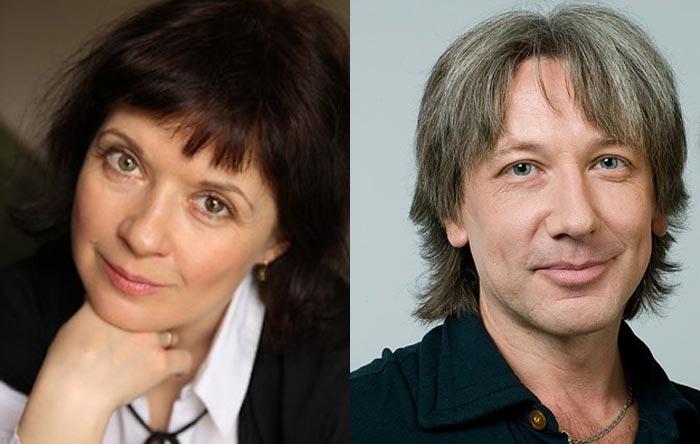 Татьяна Весёлкина и Алексей Весёлкин