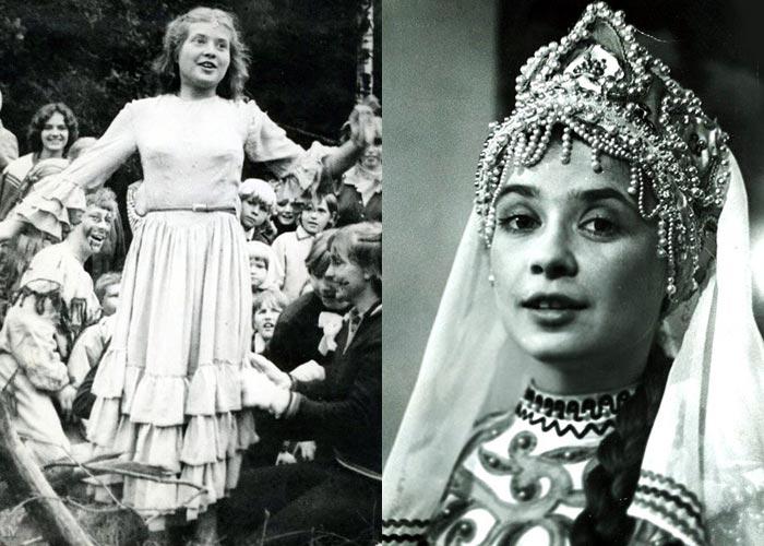 Татьяна Весёлкина в молодости
