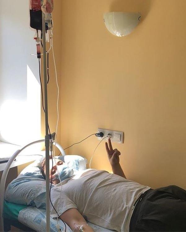 Тимур Гайдуков в больнице