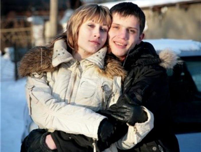Василий Лыкшин и жена Елена 3