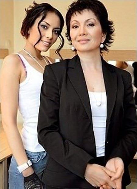 Венера Нигматулина и дочь Линда Нигматулина