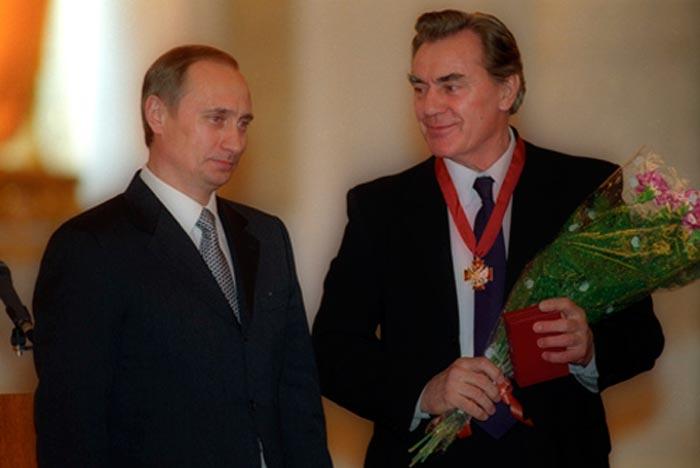 Виктор Коршунов и Владимир Путин