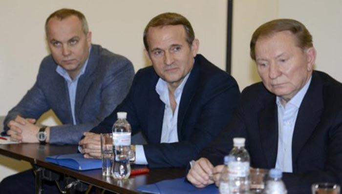 Виктор Медведчук и Леонид Кучма