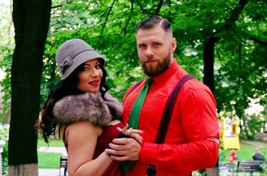 Виктория Билан и Владимир Ращук