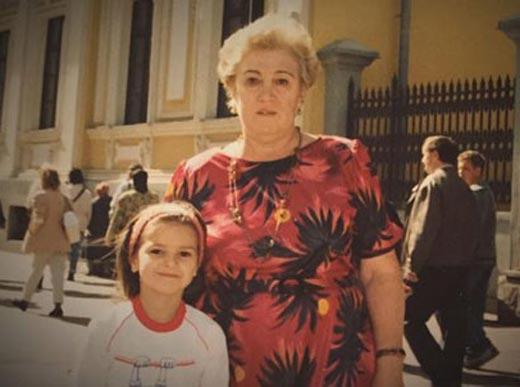 Виктория Райдос с бабушкой Зиной