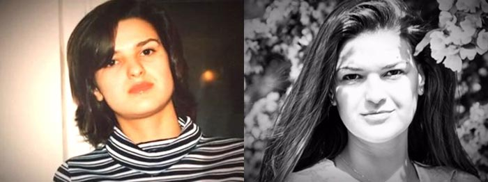 Виктория Райдос в молодости