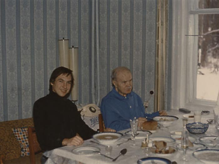 Вячеслав Никонов и дед Вячеслав Молотов