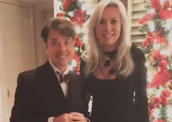 Валентин Юдашкин и жена Марина