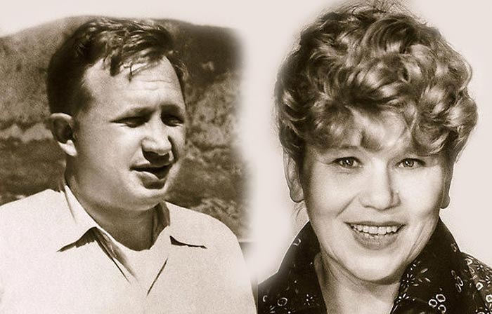 Валентина Березуцкая и Владимир Агеев