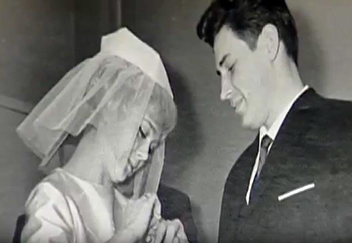 Валентина Печорина с первым мужем