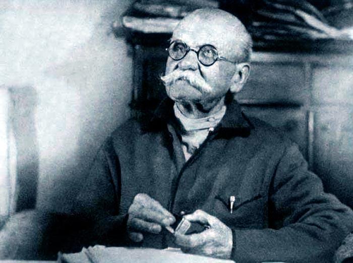 Владимир Гиляровский в старости