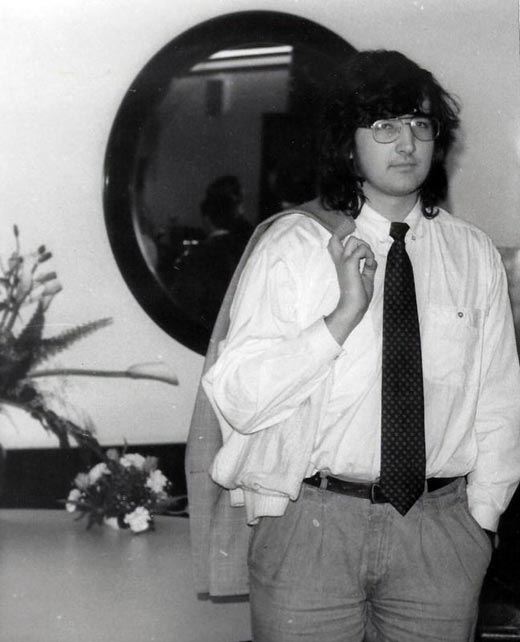 Владимир Крамник в молодости