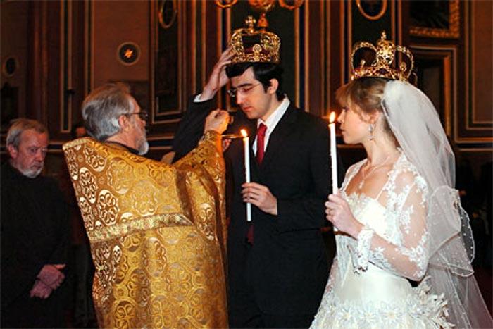 свадьба Владимир Крамник и Мари-Ло