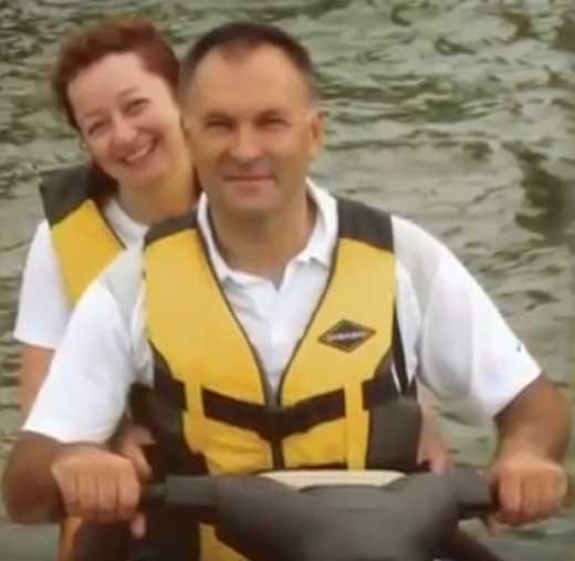 Владимир Литвинов и жена Елена