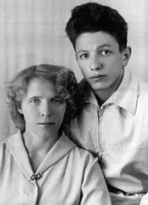 Владимир Войнович и первая жена Валентина
