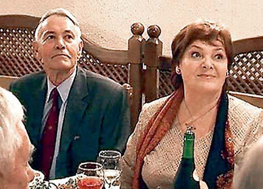 Владимир Земляникин и жена Людмила Егорова 2