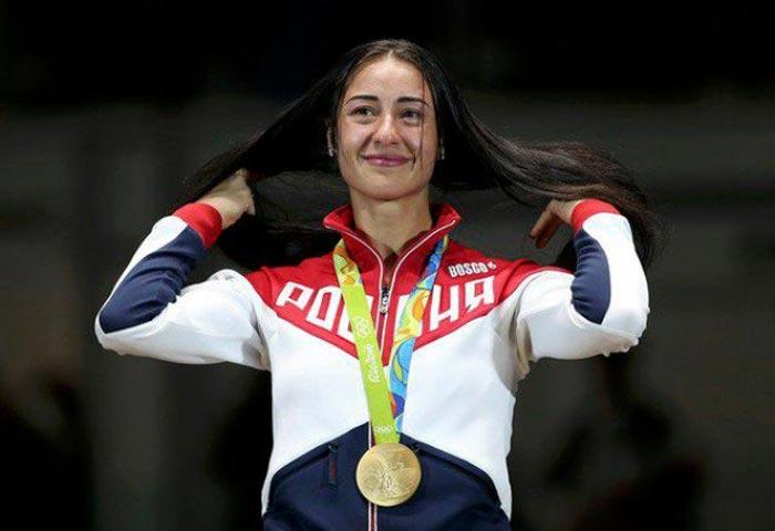 Яна Егорян чемпионка Олимпиады