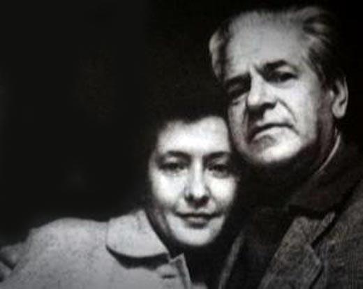 Юлия Друнина и Алексей Каплер