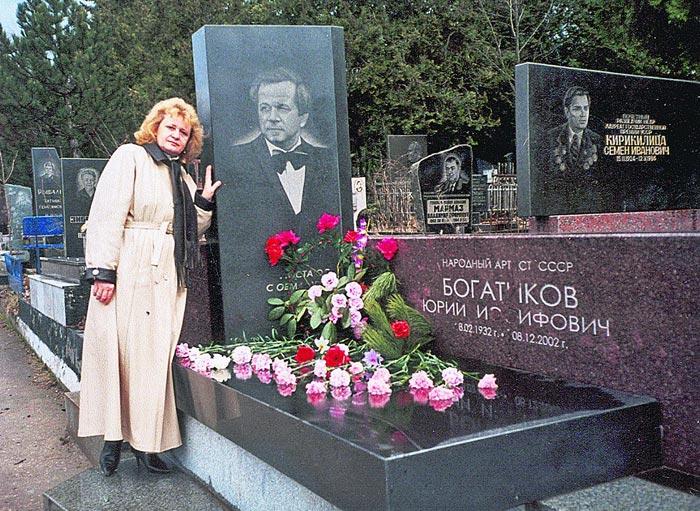 Могила Юрия Богатикова