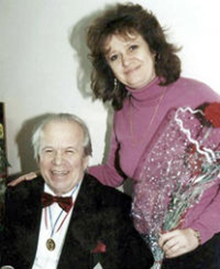 Юрий Богатиков и жена Татьяна