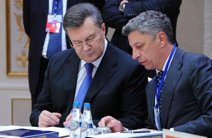 Юрий Бойко и Виктор Янукович