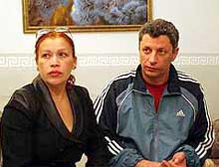 Юрий Бойко и жена Вера