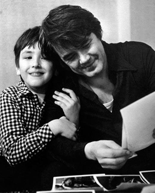 Юрий Гуляев с сыном