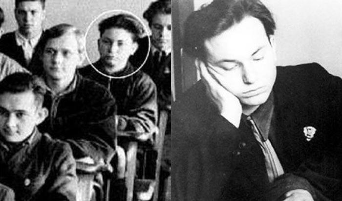 Юрий Лужков в молодости